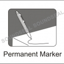 thumbs permanent marker Courier Bags